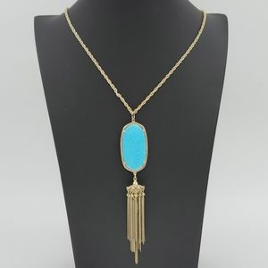 💥HP💥 Kendra Scott Rayne Necklace in Turquoise